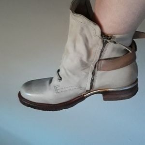 As98 Free People Combat Boots size 8.5/9